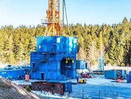 Frackinganlage