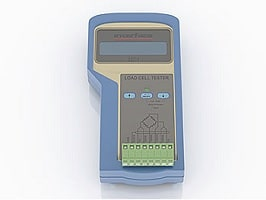 Load-Cell Tester, Diagnosegerät für DMS Sensoren
